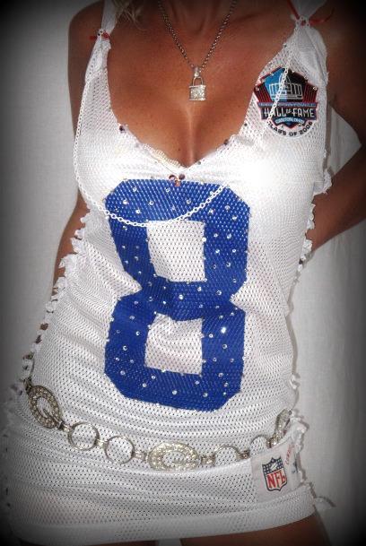 cowboys jersey dress