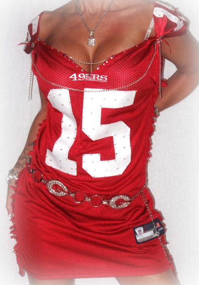 CUSTOM NFL FOOTBALL JERSEY DRESS SPECIFY TEAM
