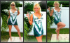 CUSTOM NFL NEW YORK JETS TANK DRESS  SMALL MEDIUM
